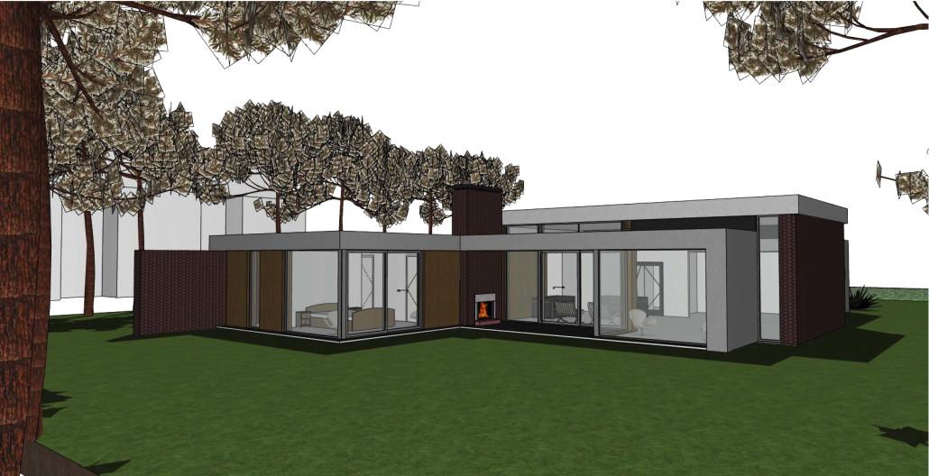 Architectenbureau a r10 bosvilla utrechtse heuvelrug for Moderne villa architectuur