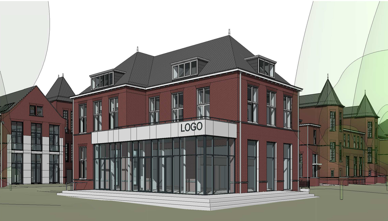 Het voormalige pathologielaboratorium van de Universteit Leiden wordt herbestemd. Hier toont architectenbureau A&R10 de nieuwe horecafunctie.