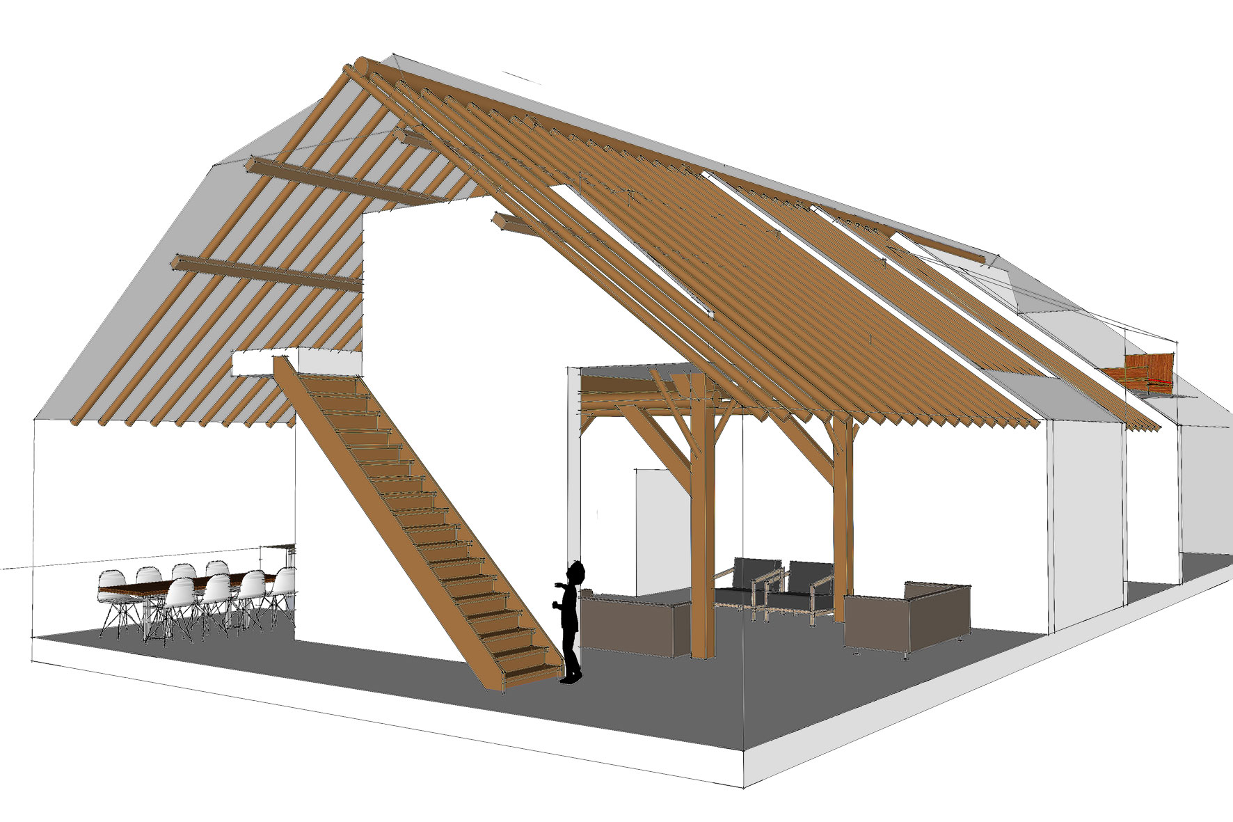 A&R10   Architectuur & Restauratie   Zeist, Maarn, Utrechtse Heuvelrug   Interieurontwerp voor een historische boerderij