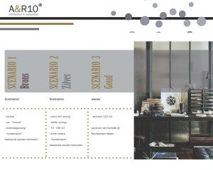Beeld van haalbaarheidsonderzoek dat architectenbureau A&R10 deed voor nieuw gebruik van een kazerne.
