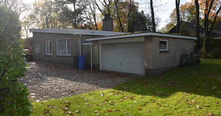 Verbouwings ontwerp architect A&R10 moderne vrijstaande jaren '60 bungalow te Zeist