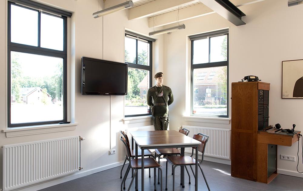 Monumentale hoefsmederij wordt militair-historisch informatiepunt - ontwerp A&R10