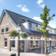 Ontwerp voor herbouw winkelpanden en appartementen in centrum Huizen, door architectenbureau A&R10