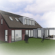 Nieuwbouw ontwerp moderne landelijke vrijstaande woning Woudenberg architect A&R10