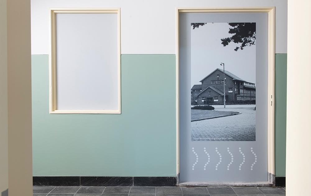 Interieurfoto van tot appartementen herbestemde Simon Stevin Kazerne in Ede - ontwerp A&R10