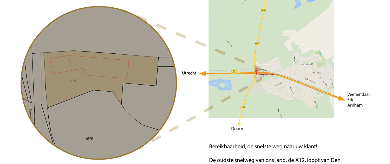 Het monumentale Meubin-pand ligt in Maarn aan de A12