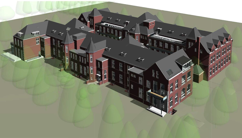 Herbestemming van voormalig pathologielab Universiteit Leiden: architectenbureau A&R10 toont ontwerp van de ingrepen