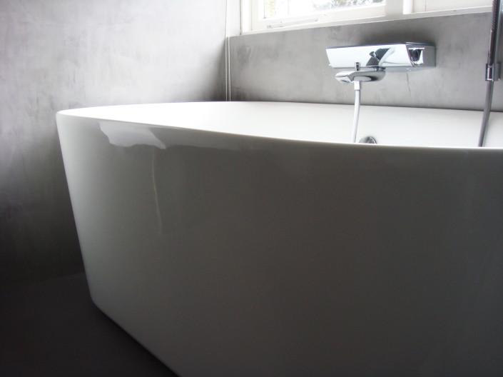 Badkamer in verbouwde bungalow in Maarn, zoals ontworpen en gerealiseerd door architectenbureau A&R10