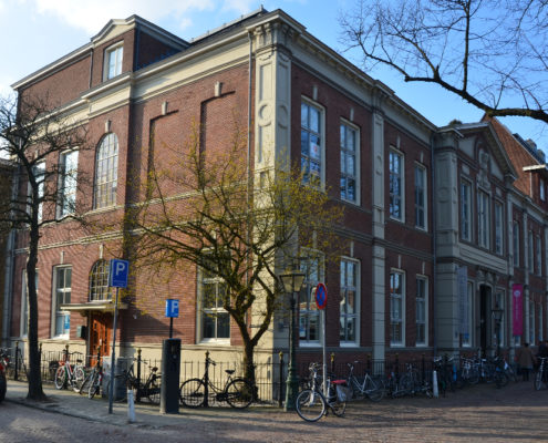 Transformatie ontwerp A&R10 Rijksmonumentaal schoolgebouw tot appartementen te Leiden