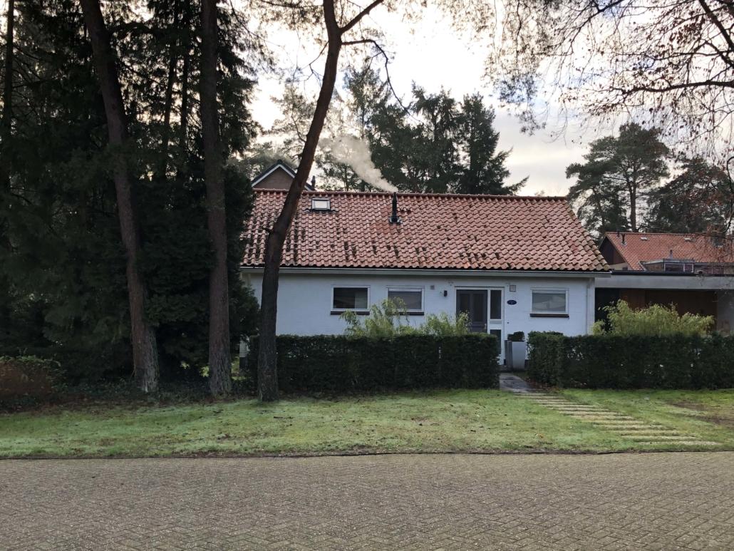 60'er jaren bungalow tijdens transformatie door architectenbureau A&R10