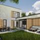60'er jaren bungalow na transformatie door architectenbureau A&R10