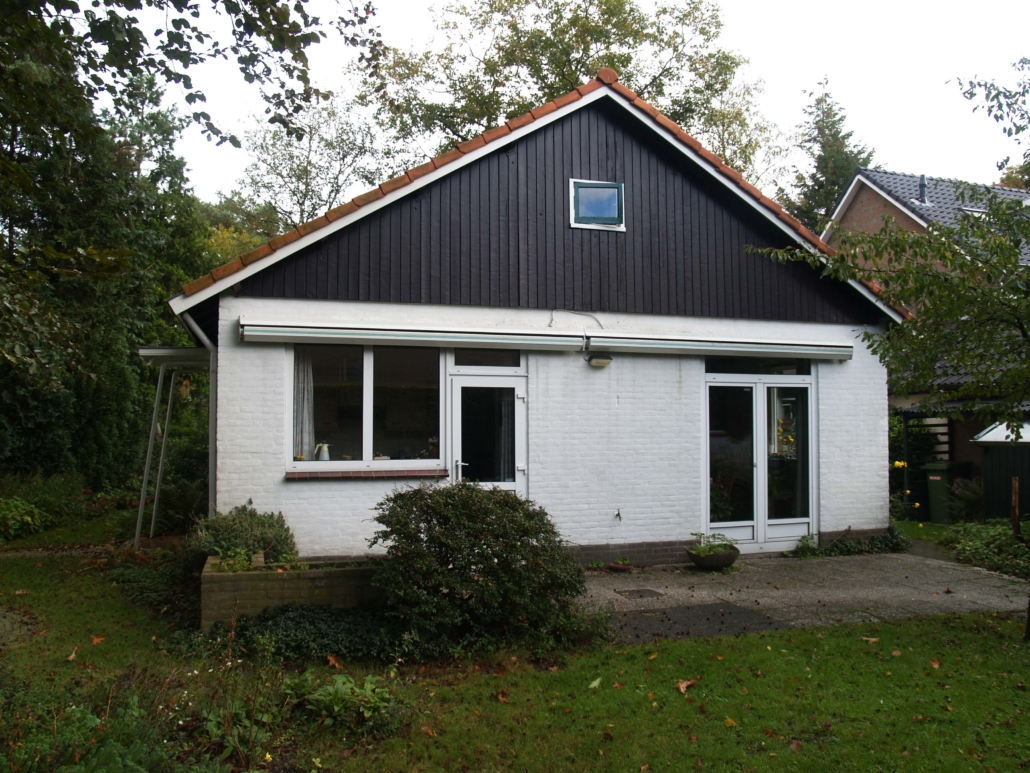 60'er jaren bungalow voor transformatie door architectenbureau A&R10