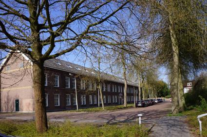 architectenbureau A&R10 deed onderzoek naar de herbestemming van een kazerne te Amersfoort