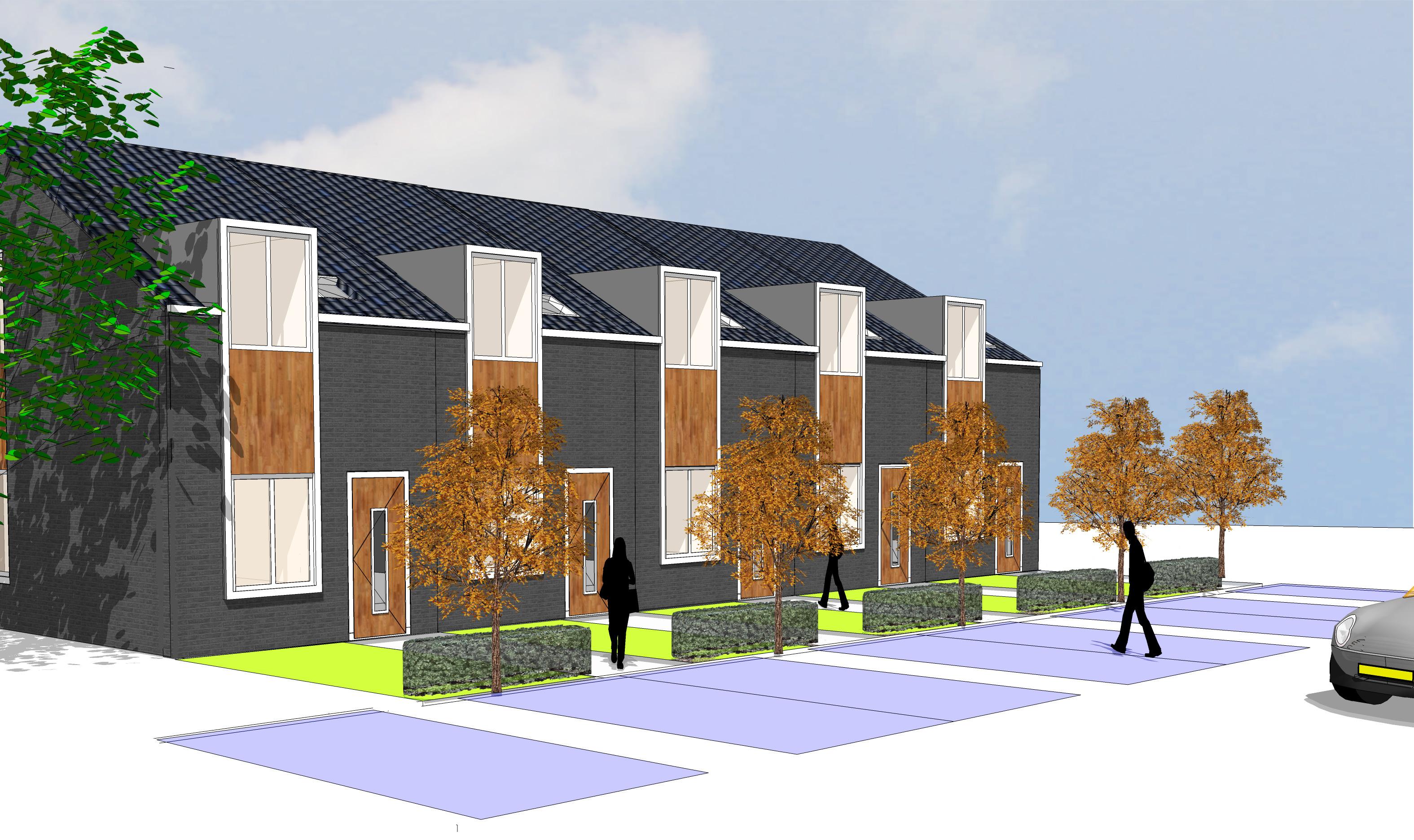 Architectenbureau A&R10 heeft samen met HORR vastgoedontwikkeling een duurzame starterswoning ontworpen