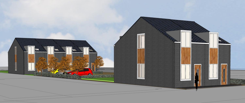architectenbureau A&R10 heeft duurzame starterswoningen ontworpen met HORR vastgoedontwikkeling