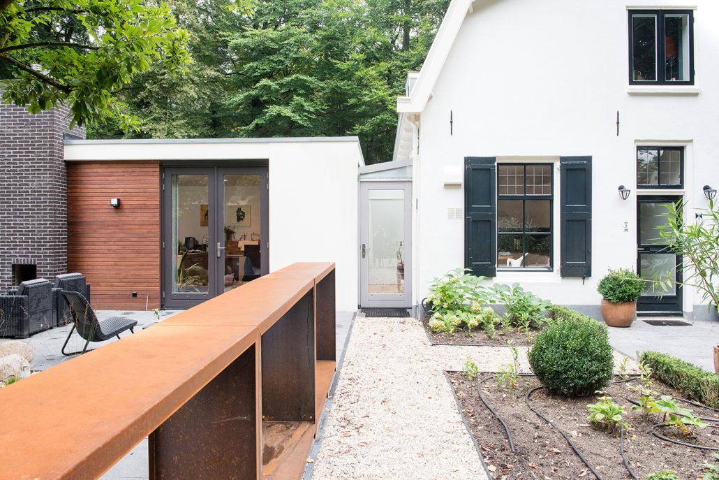 Uitbreidings ontwerp architect A&R10 voor gemeentelijk monumentale woning te Driebergen