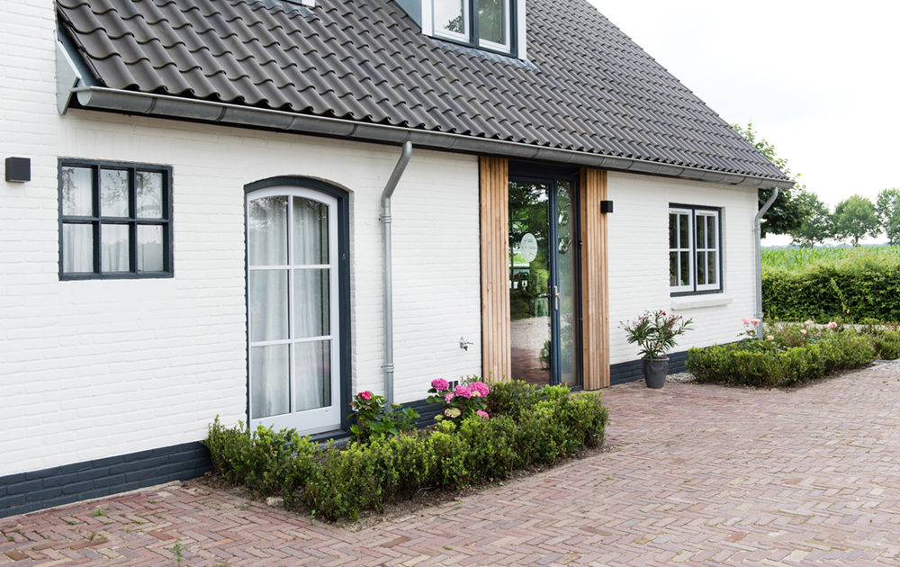 Verbouwings ontwerp architect A&R10 wederopbouw woonboerderij tot kangeroewoning Leusden